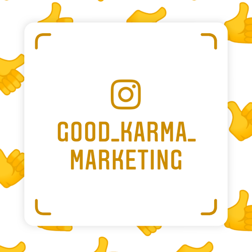 Instagram Nametags – Good Karma Marketing