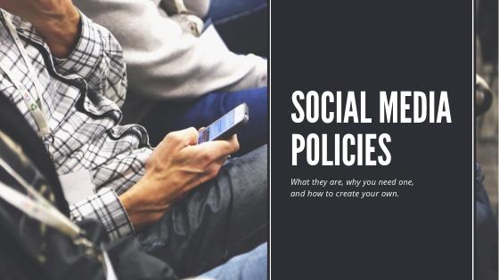 Social Media Policies Banner