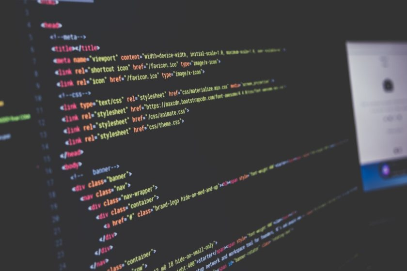 CSS and HTML Coding on Screen